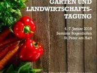 Garten- und Landwirtschafts-Tagung (04.-07.01.2018) St. Peter am Hart, Österreich